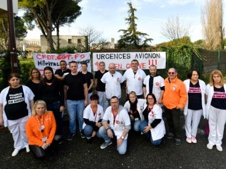 L'hôpital d'Avignon, en grève depuis 7 mois pour ne pas se transformer en entreprise
