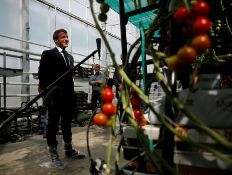 "Macron en Bretagne pour ""remercier la ferme France"""