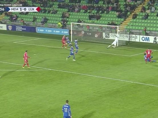 Foot - L. nations - Tous les buts de Moldavie - Luxembourg