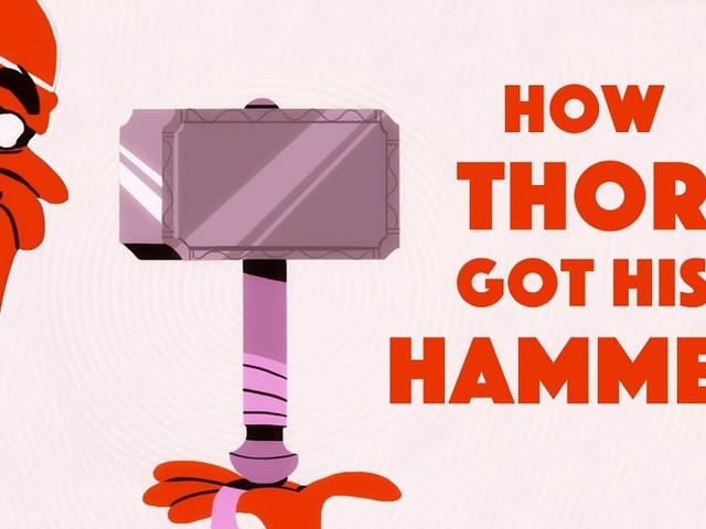 Découvrez comment Thor a obtenu son marteau légendaire