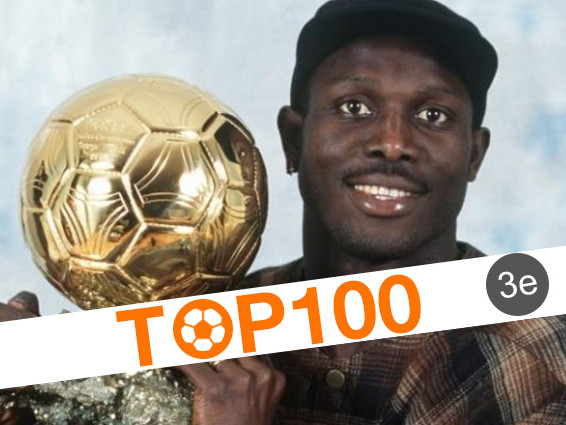 Top 100 des joueurs africains de l'histoire: 3e - George Weah