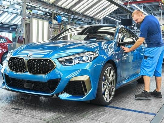 Début de production pour la BMW Série 2 Gran Coupé