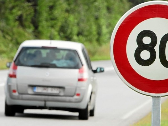 80km/h. L'Assemblée vote la possibilité de relever la vitesse sur certaines routes
