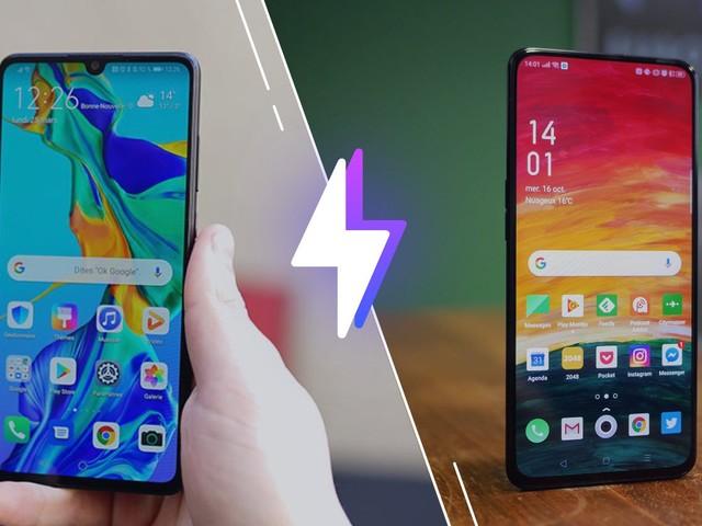 Huawei P30 ou Oppo Reno 2 : lequel est le meilleur smartphone ?