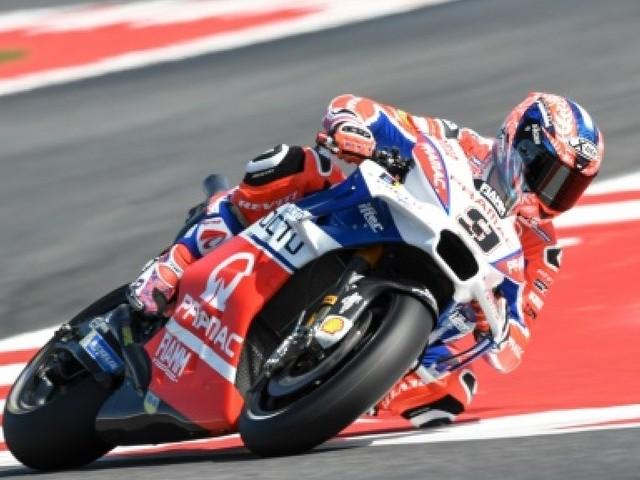 Moto: Petrucci (Ducati) plus rapide que les leaders aux essais du GP de Saint-Marin