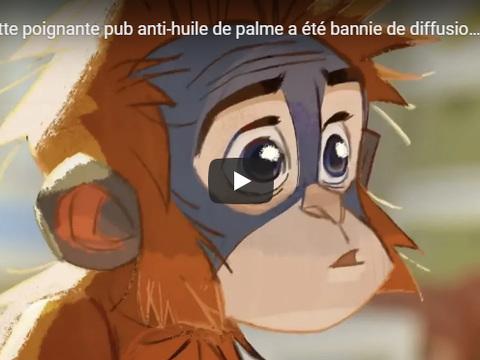 VIDEO. Une pub anti-huile de palme, interdite de diffusion au Royaume-Uni, cartonne sur YouTube