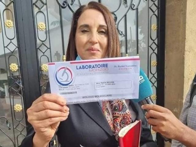 Nabila Mounib empêchée d'entrer au Parlement (vidéo)