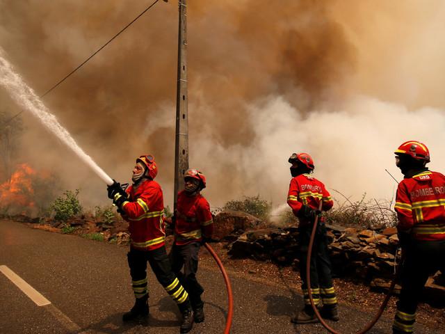 Le Portugal annonce l'arrivée d'un avion Canadair marocain pour l'aider à éteindre les incendies