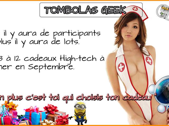 Tombola Geek+ du 25, 11 produits à gagner dont un Oneplus 5 128GB.