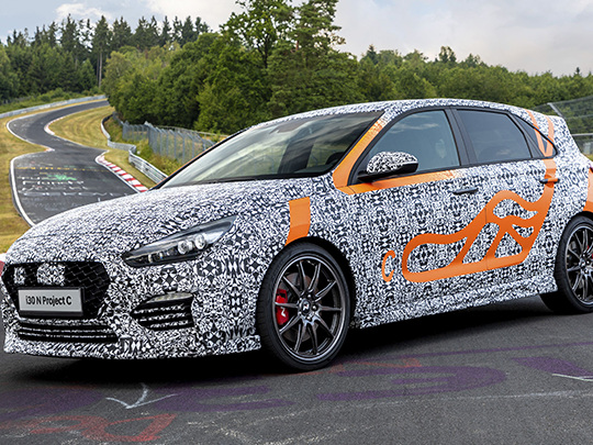 Project C, une version plus performante de la Hyundai i30 N dévoilée à Francfort