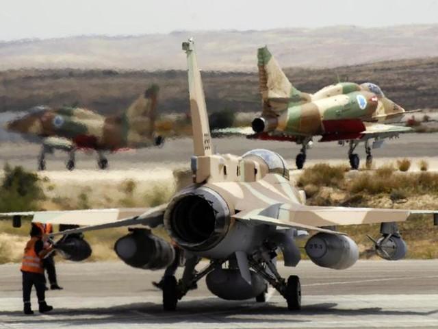 """Moyen-orient. Israël mène des frappes """"de grande ampleur"""" en Syrie"""