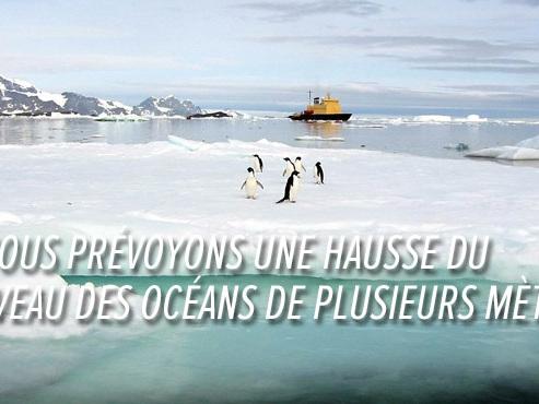 La glace de l'Antarctique fond plus vite que jamais: de nombreuses villes côtières risquent d'être inondées