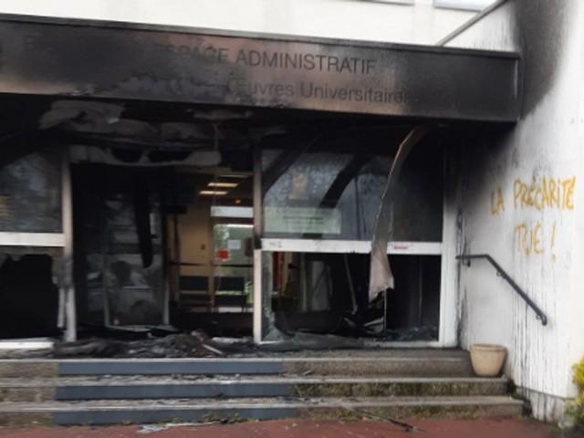 À Caen, le Crous de Normandie visé par un incendie volontaire