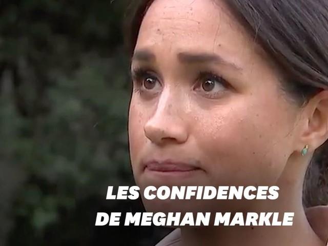 """Meghan Markle évoque """"l'épreuve"""" d'être une mère harcelée par les tabloïds"""