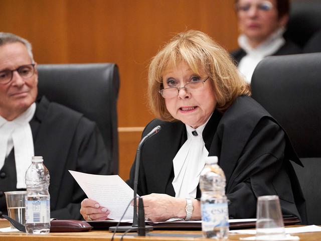Loi sur la laïcité: une plainte contre la juge en chef de la Cour d'appel