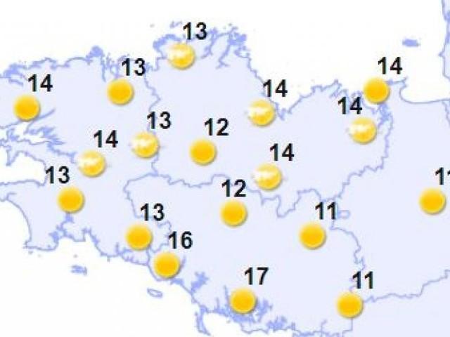 Météo en Bretagne: très belle et chaude journée d'été ce dimanche