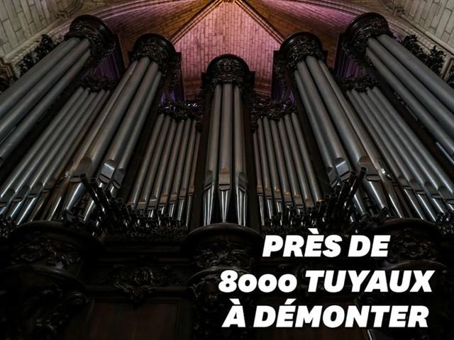 Pour le grand orgue de Notre-Dame, tout commence aujourd'hui