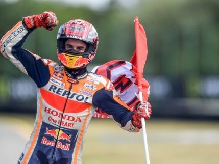 MotoGP: Marc Marquez écrase la concurrence en République tchèque