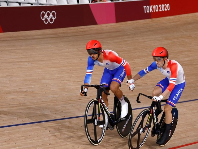 JO de Tokyo: la France en bronze de l'américaine en cyclisme sur piste, 30e médaille pour les Bleus
