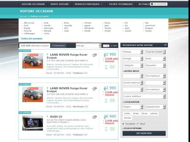 Acheter voiture - Annonces voiture occasion