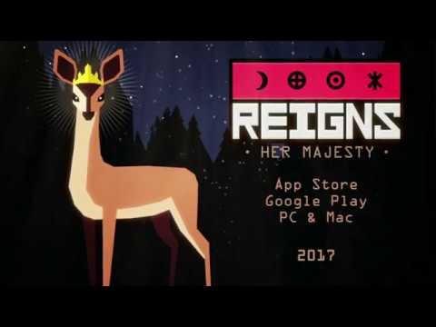 """L'excellent jeu Reigns est de retour avec """"Her Majesty"""" : on a aimé se prendre pour une reine ! Disponible sur iPhone et iPad"""
