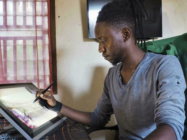 Au Cameroun, le numérique élargit l'horizon des artistes au monde entier