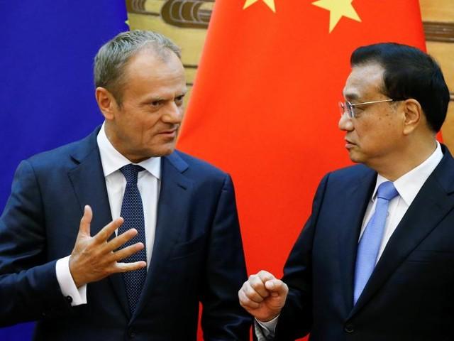 «Eviter le chaos», le credo martelé par Donald Tusk à Pékin au sommet UE/Chine