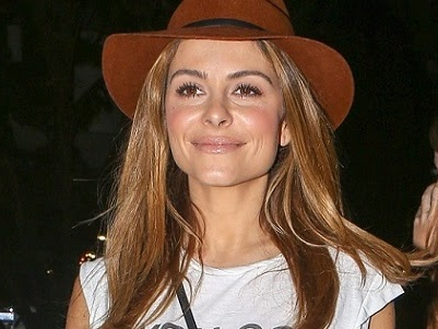 Maria Menounos quitte le concert de Taylor Swift à Los Angeles - 22.08.2015