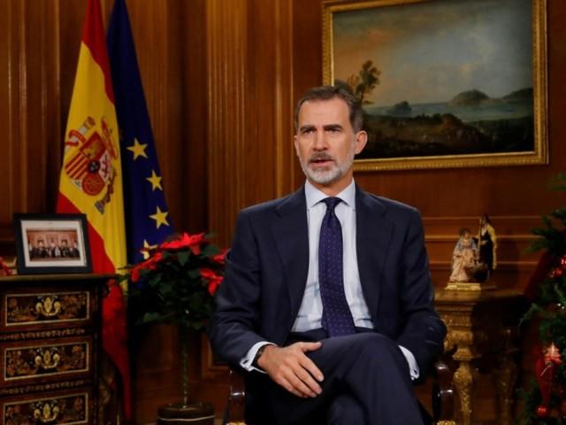 Dans son message de Noël, le roi d'Espagne appelle à l'unité du pays