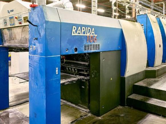 Vente aux enchères en ligne de l'imprimerie Corelio Printing