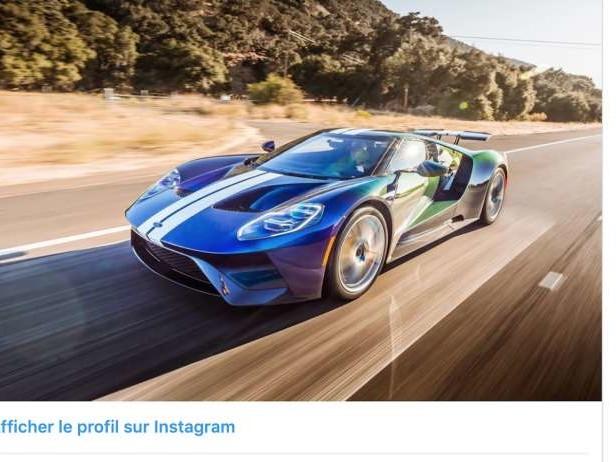 Une peinture à 100 000 dollars sur une Ford GT