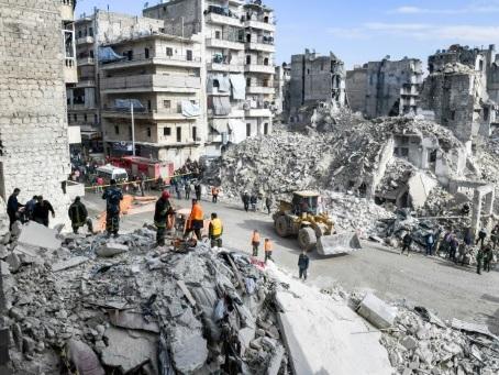 Après huit ans de guerre, le régime syrien face à un immense champ de ruines