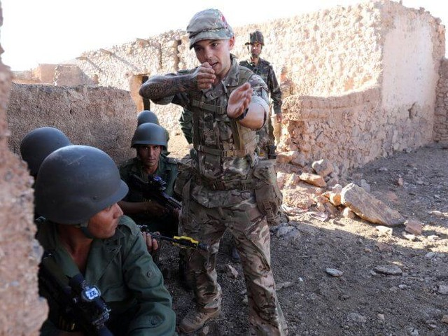 Les soldats britanniques au Maroc pour l'exercice ''Jebel Sahara'' 19