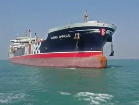 Le pétrolier suédois Stena Impero libéré par l'Iran
