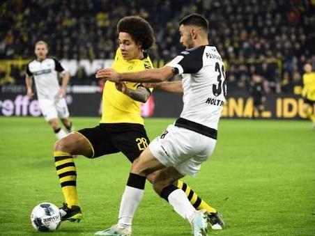 Les Belges à l'étranger - Dortmund, avec un but de Witsel, remontre trois buts contre Paderborn