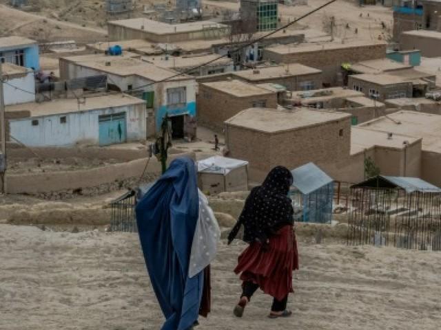 Un monde à part: la colline des veuves à Kaboul