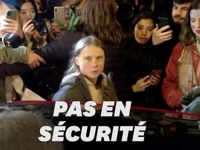 À Madrid, Greta Thunberg exfiltrée de la marche pour des raisons de sécurité