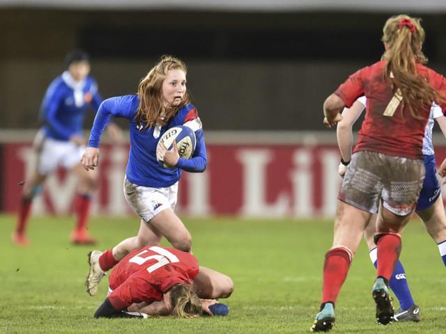 Le XV de France féminin affronte l'Angleterre ce samedi !