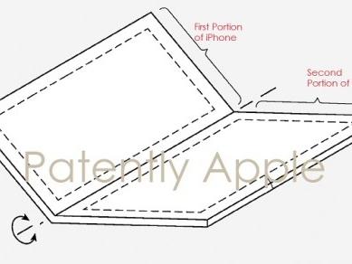 Apple enregistre un nouveau brevet concernant un écran pliable