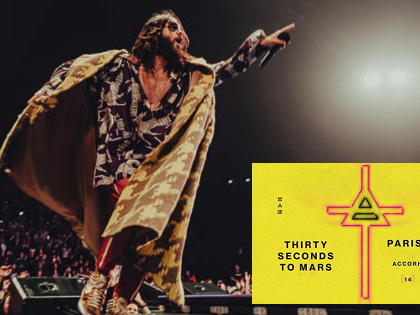 Live Report : Thirty Seconds To Mars @ AccorHotels Arena, Paris - 14/03/18
