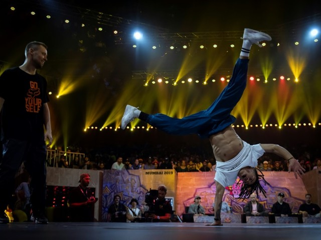 Finale mondiale: le breakdance fait son cinéma à Bollywood
