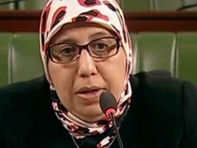 Tunisie- [vidéo] Yamina Zoghlami déçue..