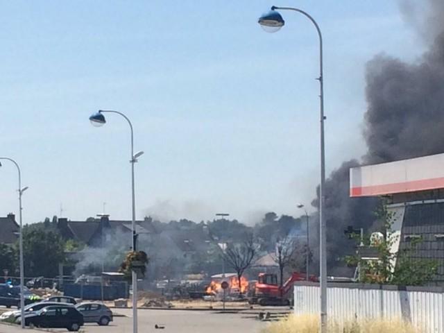 Incendie d'une station-service dans le Morbihan : 700 enfants confinés dans des écoles