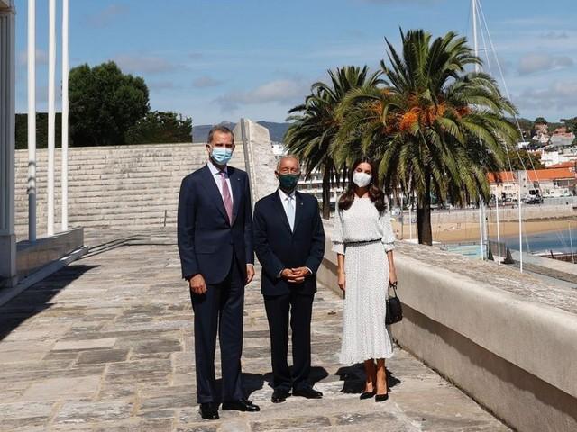 Letizia et Felipe VI au Portugal pour inaugurer un centre dédié au cancer du pancréas