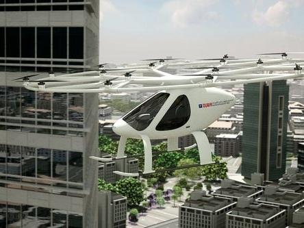 Dubai : un hélicoptère électrique en test pour remplacer les taxis