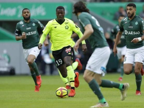 Foot - L1 - Grâce à Nicolas Pépé, Lille s'est imposé à Saint-Etienne