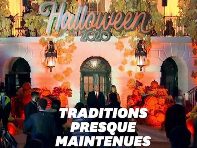 Les Trump fêtent Halloween à la Maison Blanche, sans bonbons à cause du Covid-19