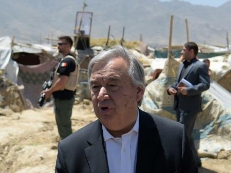 """Guterres réclame """"un dialogue"""" avec les talibans et craint pour le Sahel"""
