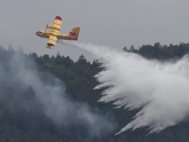 """Incendie dans l'Aude """"fixé"""", 150 hectares détruits"""