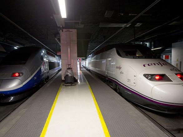 Un TGV a percuté des bouteilles de gaz déposées volontairement sur les voies